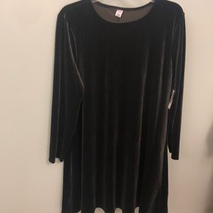 NWT long sleeve black dress from old navy sz xl